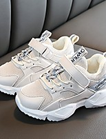 Недорогие -Мальчики Удобная обувь Синтетика Спортивная обувь Большие дети (7 лет +) Черный / Розовый / Бежевый Весна
