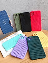 cheap -Case for Apple scene picture iPhone 11 X XS XR XS Max 8 fruit color breathable heat dissipation mesh shell series TPU material all-inclusive mobile phone shell RC