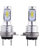 Недорогие -отолампара 2шт h10 / h9 / h7 автомобильные лампочки 35 Вт csp 3000 лм 2 светодиодные фары для универсальных всех моделей всех лет