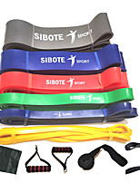 cheap -Pull up Assistance Bands 11 pcs Sports Natural Rubber Home Workout Exercise & Fitness Gym Workout Portable Non Toxic Durable Muscular Bodyweight Training Resistance Training Strength Trainer For Men