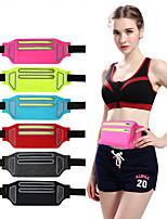 cheap -Running Belt Fanny Pack Belt Pouch / Belt Bag for Running Hiking Outdoor Exercise Traveling Sports Bag Reflective Adjustable Waterproof Lycra Spandex Men's Women's Running Bag Adults