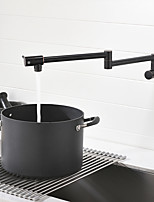 cheap -Kitchen faucet - Two Handles One Hole Pot Filler Centerset Contemporary Kitchen Taps