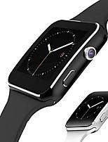 Недорогие -X6 Универсальные Смарт Часы Android iOS Bluetooth Сенсорный экран Измерение кровяного давления Регистрация деятельности Медобеспечение Контроль камеры ЭКГ + PPG