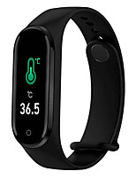 cheap -M4PT Unisex Smartwatch Smart Wristbands Android iOS Bluetooth Waterproof Sports Thermometer Exercise Record Health Care Pedometer Call Reminder Activity Tracker Sleep Tracker Sedentary Reminder