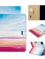 cheap -Case For Apple iPad Air/iPad 4/3/2/Mini 3/2/1 Wallet / Card Holder / with Stand Full Body Cases Scenery PU Leather For iPad Pro 9.7/New Air 10.5 2019/Pro 11 2020/Mini 5/2017/2018/ipad 10.2