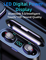 cheap -F9 Wireless Headphones Bluetooth 5.0 Earphone TWS HIFI Mini In-ear Sports Running Headset Support iOS/Android Phones HD Call TWS True Wireless Earbuds Wireless Bluetooth 5.0 Stereo