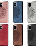 cheap -Case For Samsung Galaxy Galaxy A10(2019) / Galaxy A30(2019) / Galaxy A50(2019) Pattern Back Cover Flower Oxford Cloth