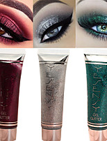 cheap -7 Colors Eyeshadow Lady Eye Cosmetic Waterproof Glow Easy to Carry Women Glitter Shine lasting Coloured gloss Pot gloss Long Lasting Daily Makeup Party Makeup Cateye Makeup Cosmetic Gift