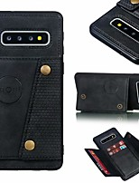 cheap -Case For Samsung Galaxy S20 Ultra / S20 Plus / Note 9 Shockproof / Pattern Full Body Cases Tile / Scenery PU Leather / TPU