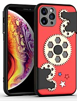 cheap -Decompression Case For iPhone 11 Pro / iPhone 11 Pro Max / iPhone SE (2020) Shockproof / Ultra-thin Back Cover Gear TPU / PC Case For iPhone 6/7/8/6P/7P/8P/XS/XR/XS Max