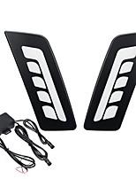 cheap -LED Daytime Running Lights DRL Fog Lamp White Pair For Ford Ranger PX/T6 Mk1 2011-2014