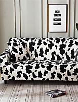 cheap -Cow Print Dustproof All-powerful Slipcovers Stretch Sofa Cover Super Soft Fabric Couch Cover with One Free Pillow Case