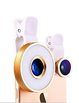 cheap -Universal 6 in 1 Lens Self-timer Phone Fill Light Live Light Artifact Camera Led Beauty Lenses for Mobile Phone