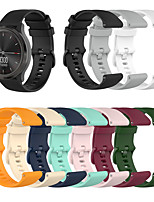 cheap -Sport Silicone Wrist Strap Watch Band for Garmin Vivoactive 4S / Vivomove 3S / Active S / Ticwatch C2 Replaceable Bracelet Wristband