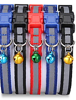 cheap -Dog Cat Pets Collar Portable Retractable Soft Cute and Cuddly Adjustable Flexible Durable Casual / Daily Classic Christmas PU Leather Beagle Bulldog Shiba Inu Pug Bichon Frise Schnauzer Black Red 1pc