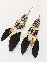 cheap -Dance Accessories Accessories Women's Training / Performance Feather Feather Earrings
