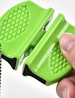 cheap -Sharpener hardware gadgets Outdoor portable sharpener stone Multi-function butterfly sharpener 7X6cm