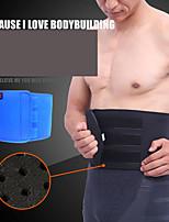 Недорогие -Фиксация спины Задняя опора / поясничный поддерживающий пояс Пояс для талии / пояс с эффектом сауны для Бег Фитнес Тренировка в тренажерном зале Регулируется Сжатие видеоизображений Дышащий