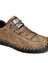 cheap -Men's Summer Outdoor Sneakers PU Non-slipping Black / Khaki