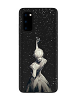 cheap -Case For Samsung Galaxy S20 FE Frosted Pattern Back Cover Sexy Lady TPU Soft Galaxy S20 Plus Note 20 Ultra S10E S10 Plus A11 A21S A31 A41 A51 A71 A81 A91