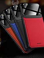 cheap -Case For OPPO OPPO Reno2 / OPPO Reno2 Z / OPPO R11s Shockproof Back Cover Solid Colored PU Leather / TPU