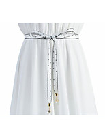 cheap -Lace Wedding / Party / Evening Sash With Crystal / Belt Women's Sashes