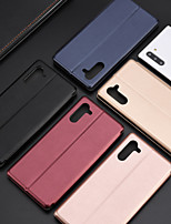 cheap -Case For Samsung Galaxy S20/S20U/S20P/S10/S10P/S9/S9P/ Note 9/Note 10/Note10P/A10/A20/A30/A50/A70 Card Holder / Shockproof / Flip Full Body Cases