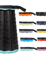 cheap -Camping Stool Portable Foldable Washable Comfortable Waterproof Fabric Mixed Material for 1 person Fishing Beach Camping / Hiking / Caving Traveling Autumn / Fall Summer Mineral Green Forest Green