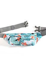 cheap -Running Belt Fanny Pack Belt Pouch / Belt Bag for Running Hiking Outdoor Exercise Traveling Sports Bag Adjustable Waterproof Portable Nylon Men's Women's Running Bag Adults