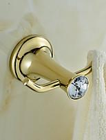 cheap -Towel Bar / Robe Hook / Bathroom Shelf New Design / Adorable / Creative Brass 1pc - Bathroom / Hotel bath Single / Double / 1-Towel Bar Wall Mounted