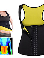 cheap -Body Shaper Hot Sweat Workout Tank Top Slimming Vest Sweat Waist Trainer Corset Sports Neoprene Yoga Exercise & Fitness Fitness No Zipper Adjustable D-Ring Buckle Weight Loss Strengthens Muscle Tone