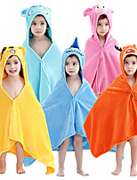 cheap -Kid's Bathrobe Oodie Shark Onesie Pajamas Flannelette Yellow / Pink Cosplay For Boys and Girls Animal Sleepwear Cartoon Festival / Holiday Costumes