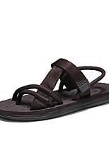 cheap -Men's Summer Casual / Vintage Outdoor Beach Sandals Nylon Breathable Waterproof Non-slipping Dark Brown / Black / Gray