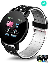cheap -119PLUS Unisex Smartwatch Android iOS Bluetooth Waterproof Heart Rate Monitor Blood Pressure Measurement Health Care Blood Oxygen Monitor Pedometer Sleep Tracker Sedentary Reminder Community Share