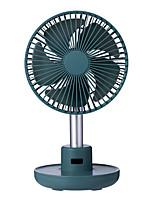 cheap -Solove Desktop Fan 4000mAh Battery Capacity USB Charging Low Noise Rechargeable 3 Mode Wind Speed Cooling Oscillating Fan