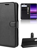 cheap -For Sony Xperia 1/Sony Xperia 5/Sony Xperia 10 Litchi Texture Horizontal Flip Leather Case with Wallet & Holder & Card Slots