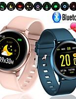 Недорогие -W19 Pro новый ультратонкий смарт-часы сердечного ритма кислорода в кислороде спорт фитнес Trakcer Bluetooth часы для Android IOS телефон
