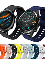 cheap -Sport Silicone Wrist Strap Watch Band for Huawei Watch GT 2e / Honor Magic Watch 2 46mm / 42mm / GT2 46mm / GT2 42mm / GT Active / Watch 2 Pro / Watch 2 Replaceable Bracelet Wristband
