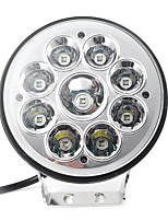 cheap -5 inch 9V-32V 80W 12V 9 LED Work Light Spot Round Driving Fog Lamp Motorcycle Offroad ATV 4WD