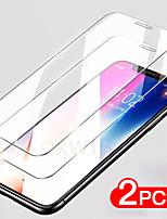 Недорогие -2шт 9h закаленное стекло на для iphone 8 7 6 6s плюс 5 5S se защитная пленка для iphone11 pro max x xr xs max se защитная пленка
