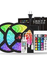 Недорогие -2x5m Wi-Fi Гибкие светодиодные полосы RGB TIKTOCK Наборы светодиодов 300 светодиодов SMD5050 10 мм 1 Пульт дистанционного управления 24 ключа / 1 х 12 В 6а блок питания 1
