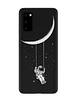 cheap -Case For Samsung Galaxy S20 FE Frosted Pattern Back Cover sky TPU Soft Galaxy S20 Plus Note 20 Ultra S10E S10 Plus A11 A21S A31 A41 A51 A71 A81 A91