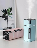 cheap -Humidifier Night Light Aroma Air Humidifier USB Portable Electric Aromatherapy Essential Oil Diffuser Silent Mode for Car Office Home 300ml Water Tank 40ml Spray Volume