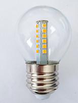 cheap -1 set 3 W LED Globe Bulbs 100 lm E27 G45 25 LED Beads SMD 2835 Warm White White 180-240 V