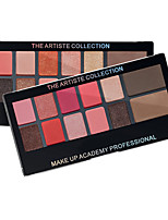 cheap -12 Colors Eyeshadow Eyeshadow Palette Matte Eye Cosmetic EyeShadow Waterproof lasting Waterproof Girlfriend Gift Daily Makeup Party Makeup Fairy Makeup Cosmetic Gift
