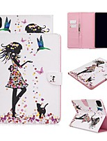 cheap -Case For Apple iPad Air/iPad 4/3/2/Mini 3/2/1 Wallet / Card Holder / with Stand Full Body Cases Sexy Lady PU Leather For iPad Pro 9.7/New Air 10.5 2019/Pro 11 2020/Mini 5/2017/2018/ipad 10.2