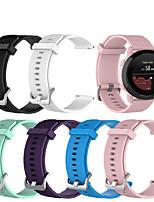 Недорогие -Ремешок для часов для Suunto 3 Fitnes Suunto Спортивный ремешок силиконовый Повязка на запястье