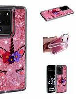 Недорогие -чехол для samsung galaxy s20 ultra s20 plus чехол для телефона tpu материал плывун раскрашенный рисунок чехол для samsung galaxy s20 s10 plus s10 s10e s9 plus s9 s8 plus s8