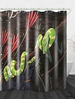 cheap -Bathroom Shower Curtains & Hooks Rainbow Neoclassical Polyester Waterproof