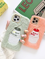 cheap -Plush Embroidery Cartoon Case for Apple iPhone 11 Pro Max X XR XS Max 8 Plus 7 Plus 6 Plus SE Back Cover